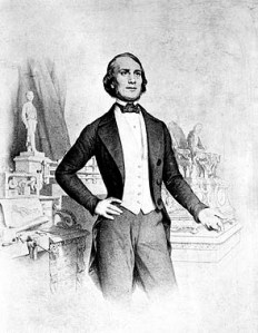 Jean Eugène Robert-Houdin (1805-1871) var samtidig med H.C. Andersen.