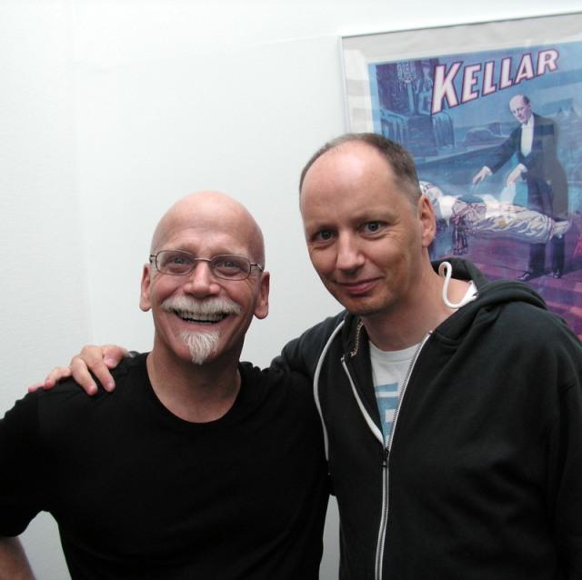 Søndag 31. august 2014. Møde med en af verdens bedste tryllekunstnere: Michael Ammar.