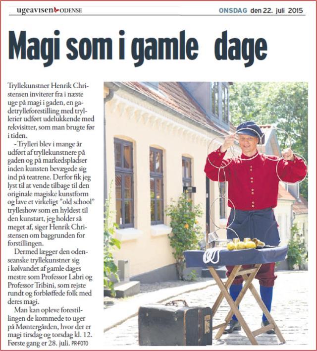 Ugeavisen Odense 22072015