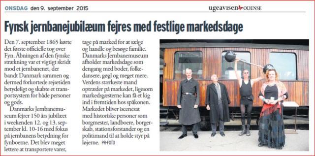 Danmarks Jernbanemuseum 150 års jubilæum